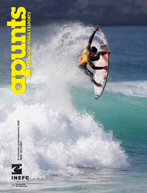 Cobrir 141 Apunts Educació Física i Esports. Inefc