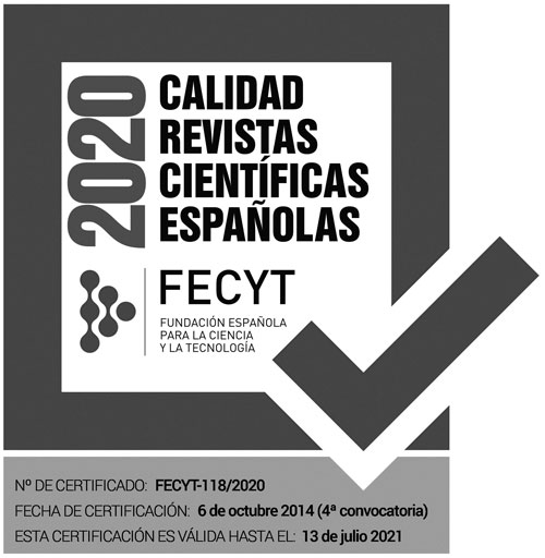Certificado FECYT