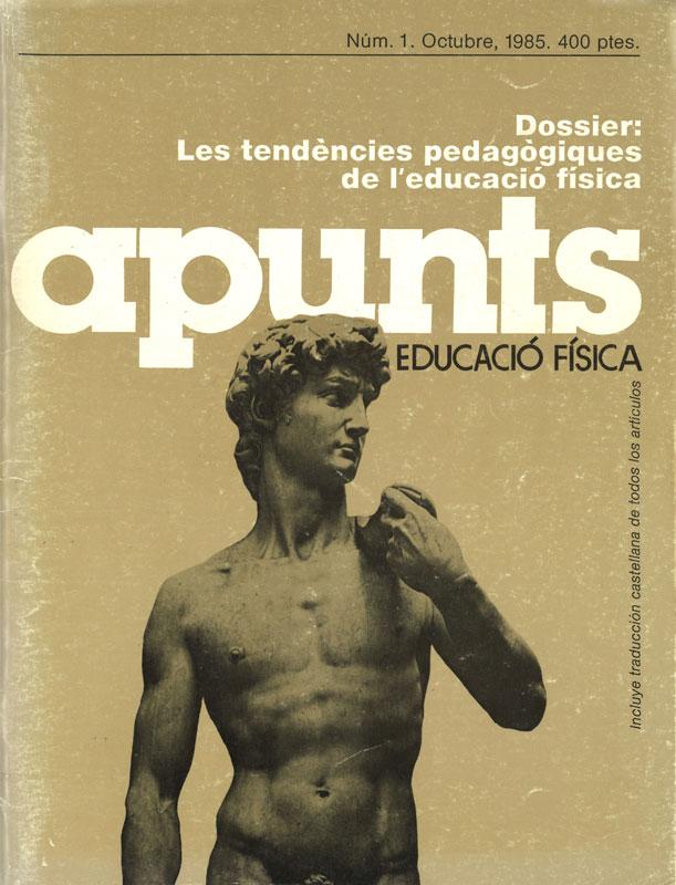 Portada 01 Apunts Educación Física y Deportes. INEFC