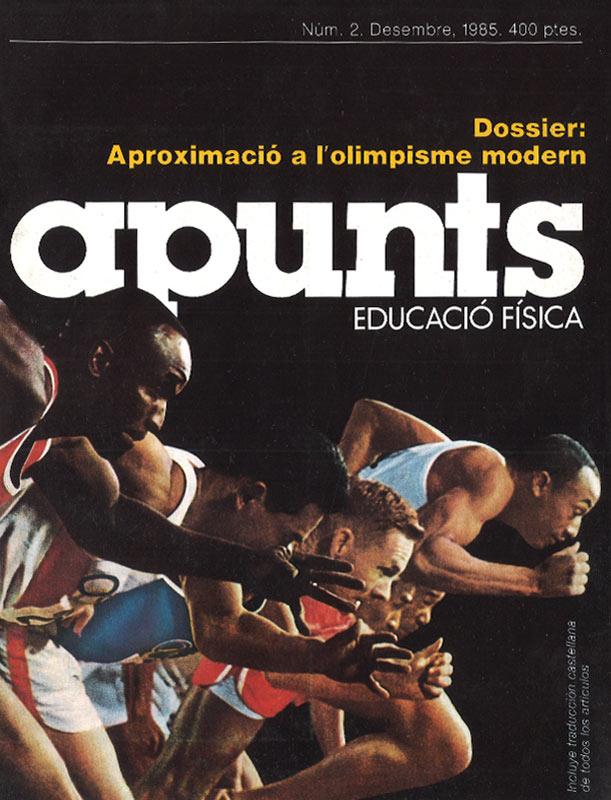 Portada 02 Apunts Educación Física y Deportes. INEFC