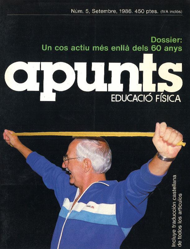 Portada 05 Apunts Educación Física y Deportes. INEFC