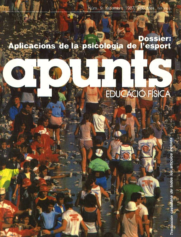 Portada 09 Apunts Educación Física y Deportes. INEFC