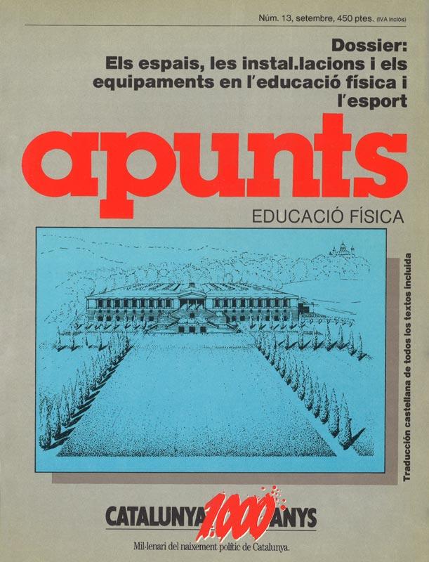 Cobrir 13 Apunts Educació Física i Esports. INEFC