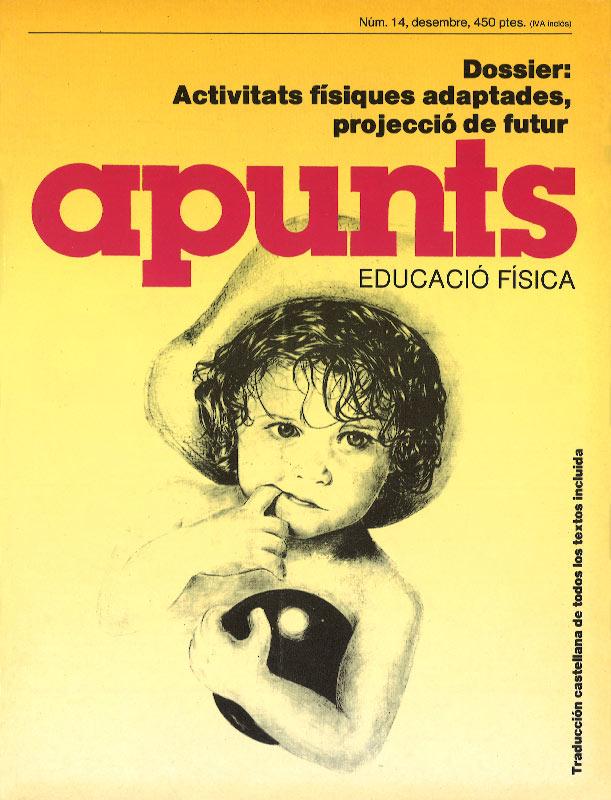 Cobrir 14 Apunts Educació Física i Esports. INEFC