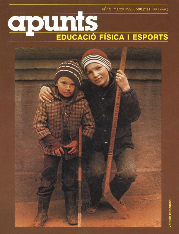 Portada 19 Apunts Educación Física y Deportes. INEFC
