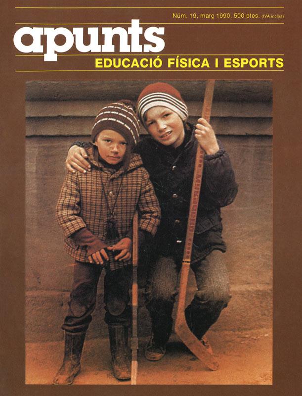 Cobrir 19 Apunts Educació Física i Esports. INEFC