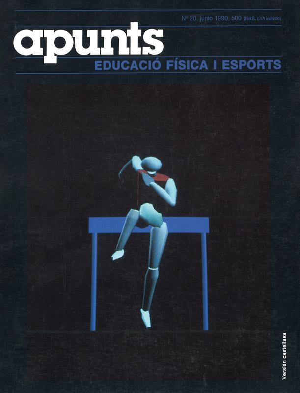 Portada 20 Apunts Educación Física y Deportes. INEFC