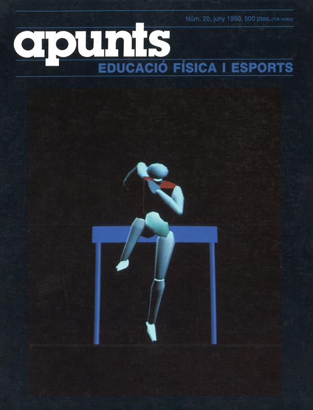 Cobrir 20 Apunts Educació Física i Esports. INEFC