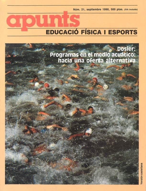 Portada 21 Apunts Educación Física y Deportes. INEFC