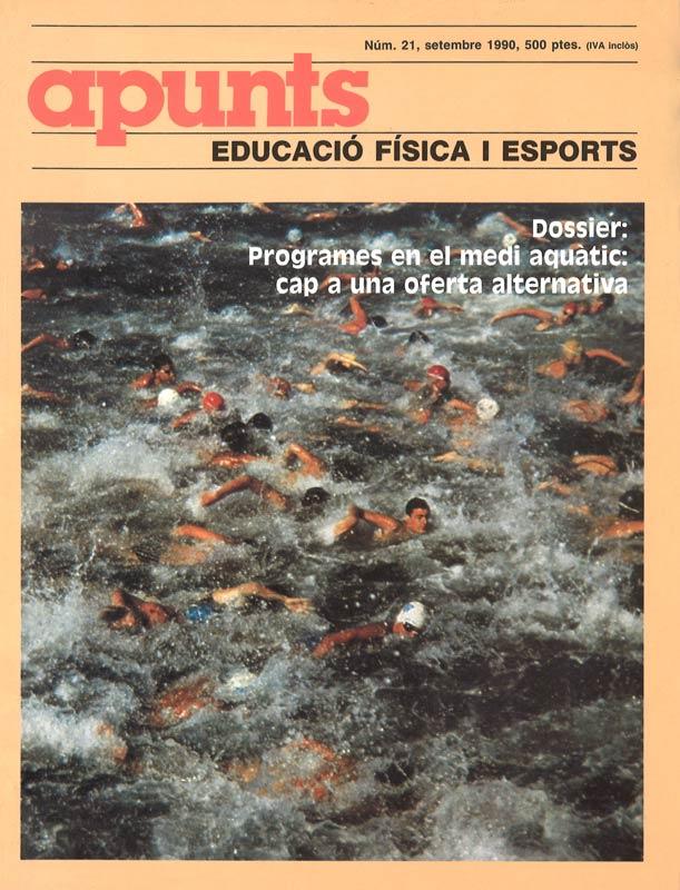 Cobrir 21 Apunts Educació Física i Esports. INEFC