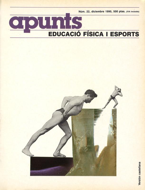 Portada 22 Apunts Educación Física y Deportes. INEFC