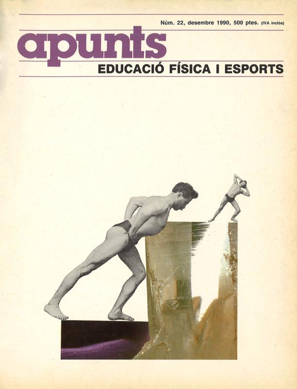 Cobrir 22 Apunts Educació Física i Esports. INEFC