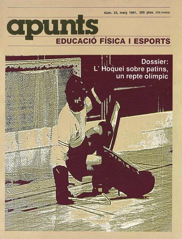 Cobrir 23 Apunts Educació Física i Esports. INEFC