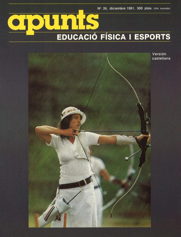 Portada 26 Apunts Educación Física y Deportes. INEFC