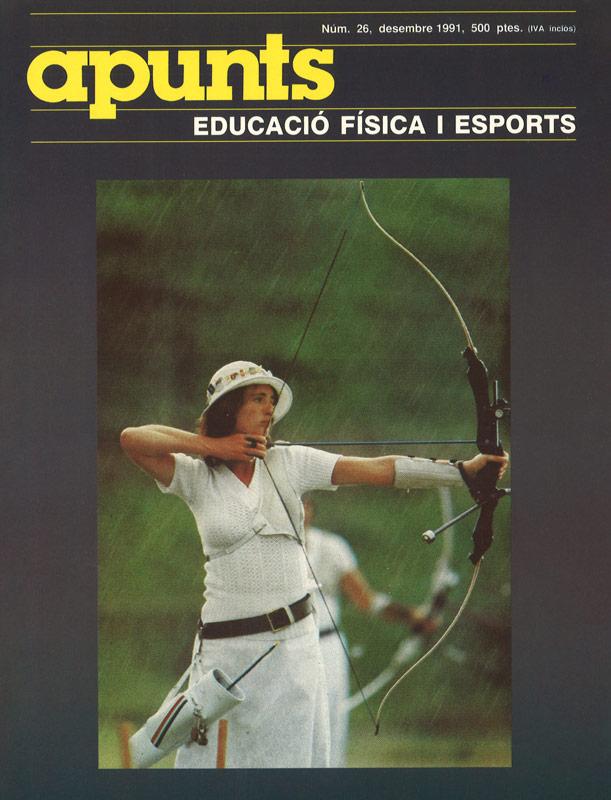 Cobrir 26 Apunts Educació Física i Esports. INEFC