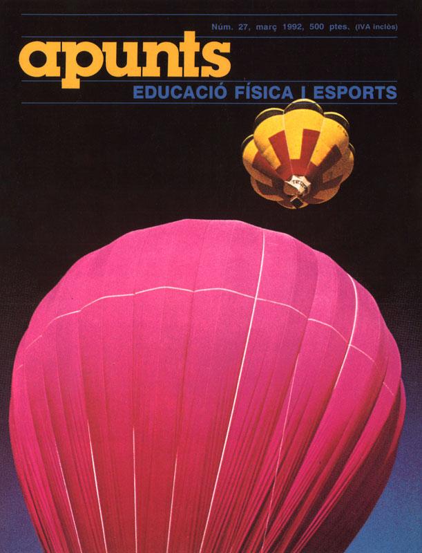 Cobrir 27 Apunts Educació Física i Esports. INEFC