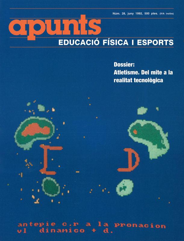 Cobrir 28 Apunts Educació Física i Esports. INEFC