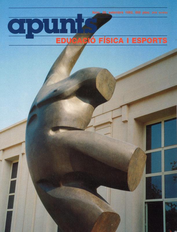 Cobrir 29 Apunts Educació Física i Esports. INEFC