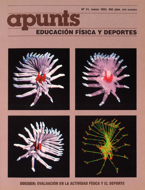Portada 31 Apunts Educación Física y Deportes. INEFC