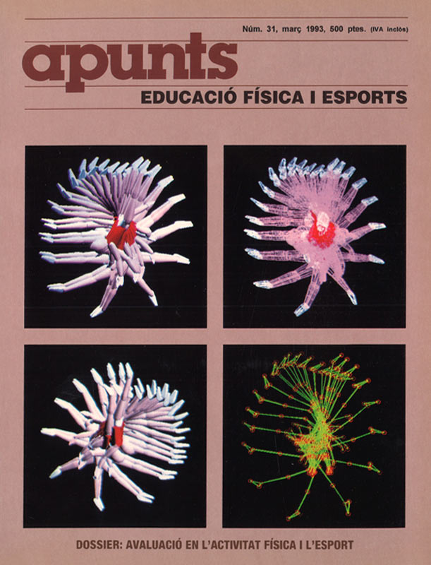 Cobrir 31 Apunts Educació Física i Esports. INEFC