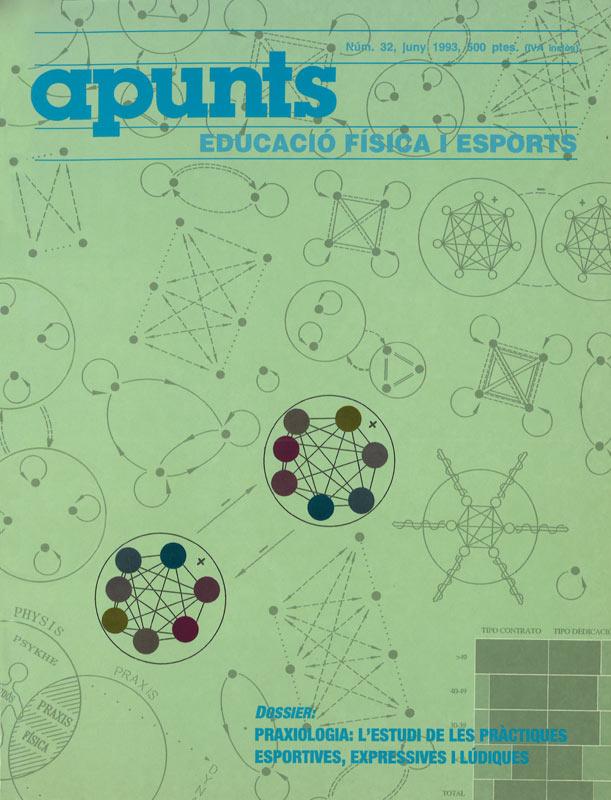Cobrir 32 Apunts Educació Física i Esports. INEFC