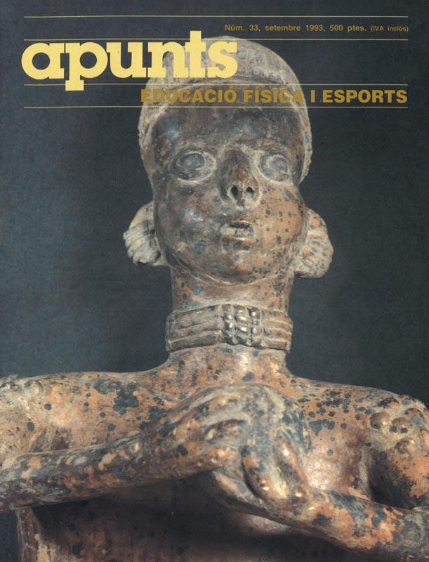 Cobrir 33 Apunts Educació Física i Esports. INEFC