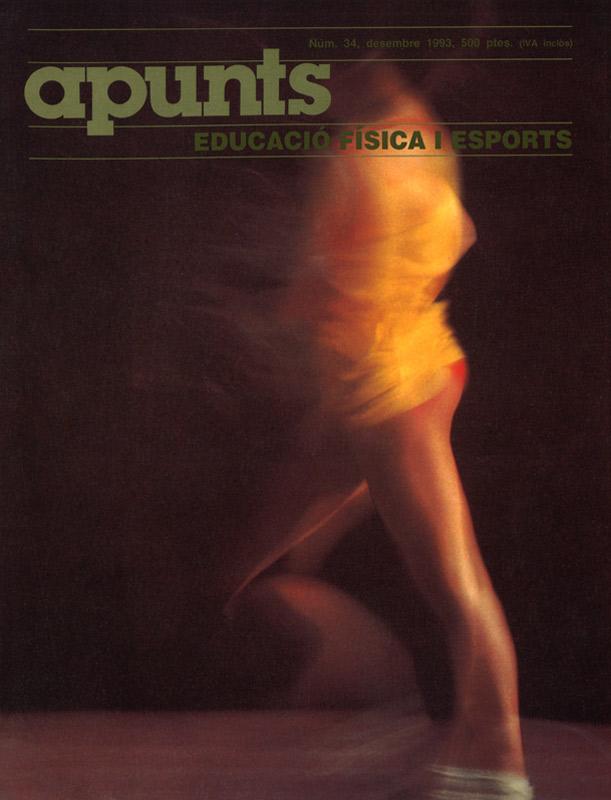 Cobrir 34 Apunts Educació Física i Esports. INEFC