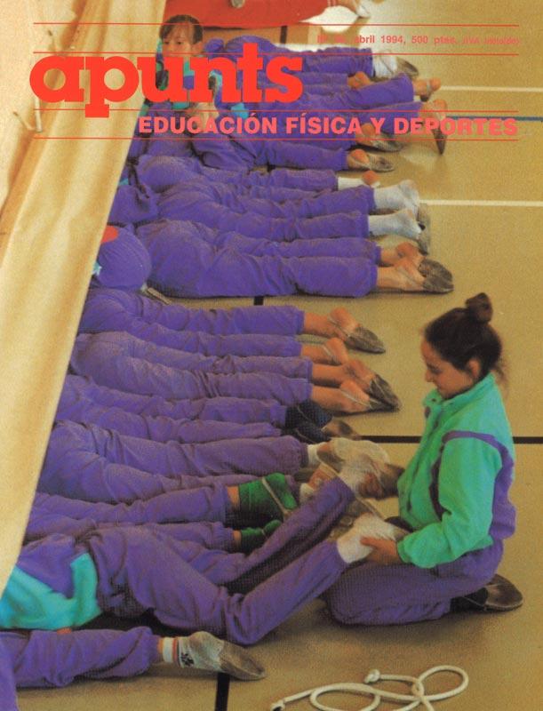 Portada 36 Apunts Educación Física y Deportes. INEFC