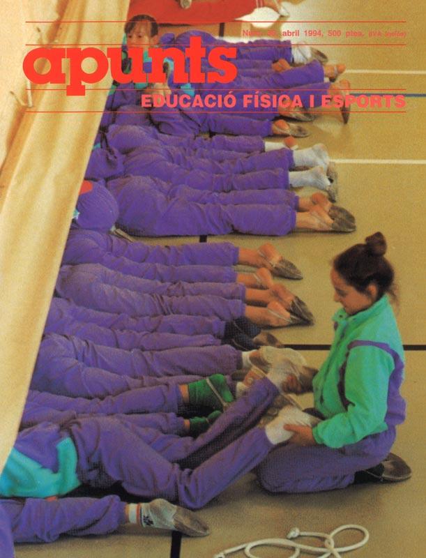 Cobrir 36 Apunts Educació Física i Esports. INEFC