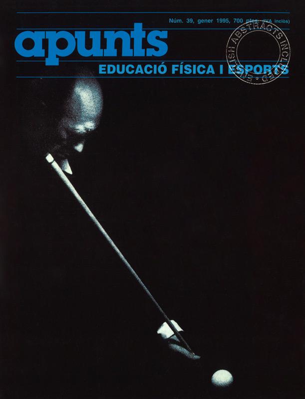 Cobrir 39 Apunts Educació Física i Esports. INEFC