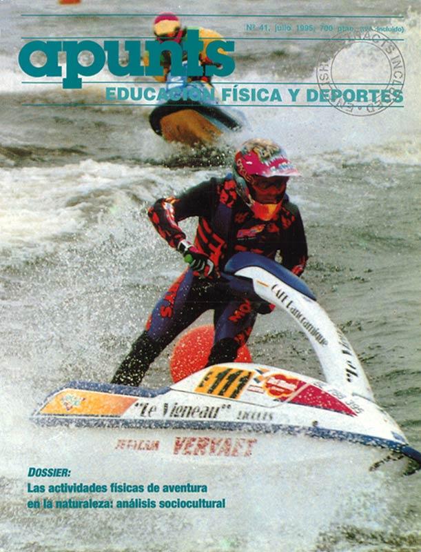 Portada 41 Apunts Educación Física y Deportes. INEFC