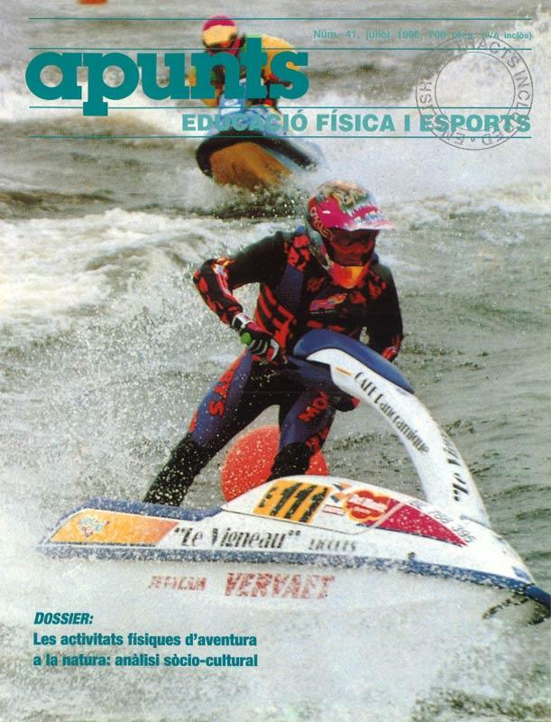 Cobrir 41 Apunts Educació Física i Esports. INEFC