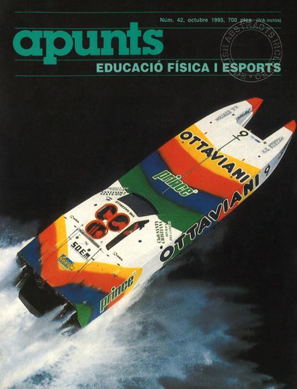 Cobrir 42 Apunts Educació Física i Esports. INEFC