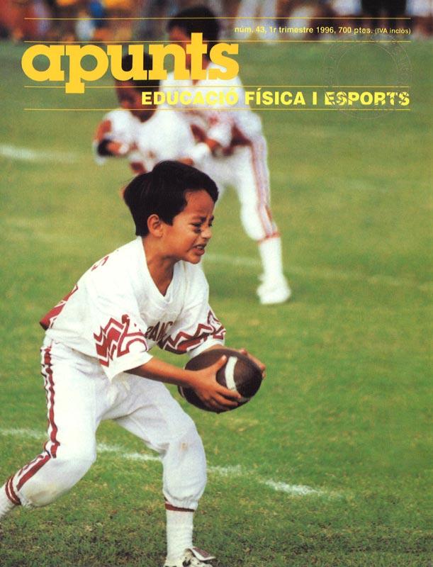 Cobrir 43 Apunts Educació Física i Esports. INEFC