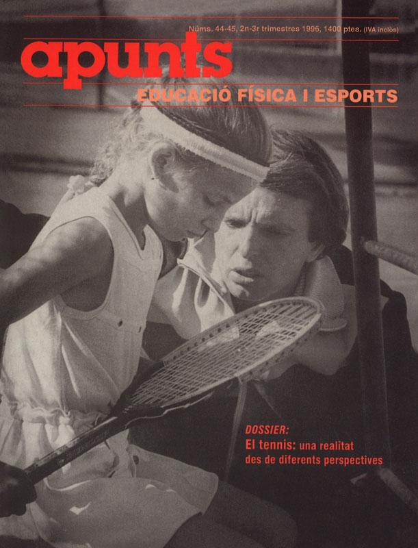 Cobrir 44-45 Apunts Educació Física i Esports. INEFC