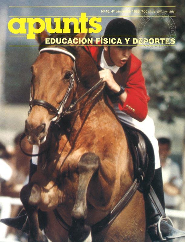Portada 46 Apunts Educación Física y Deportes. INEFC