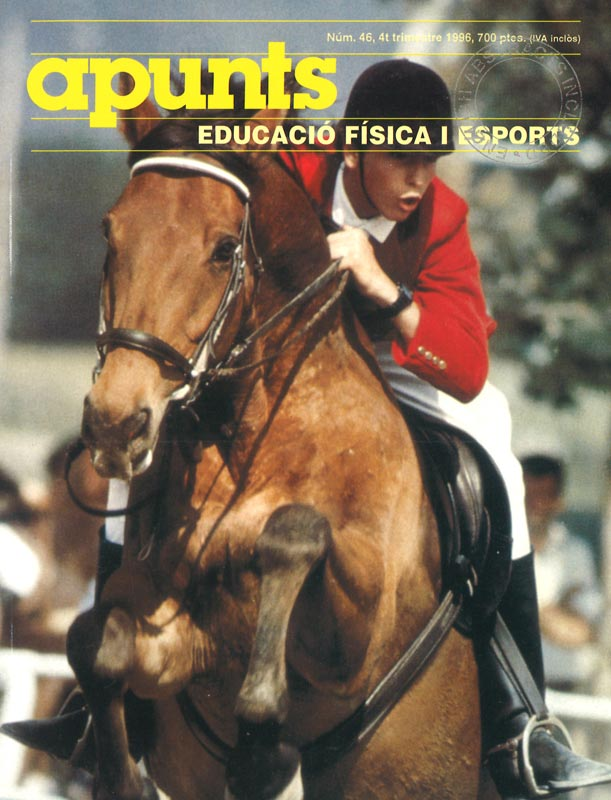 Cobrir 46 Apunts Educació Física i Esports. INEFC