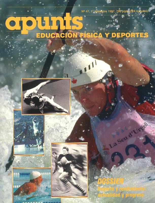 Portada 47 Apunts Educación Física y Deportes. INEFC