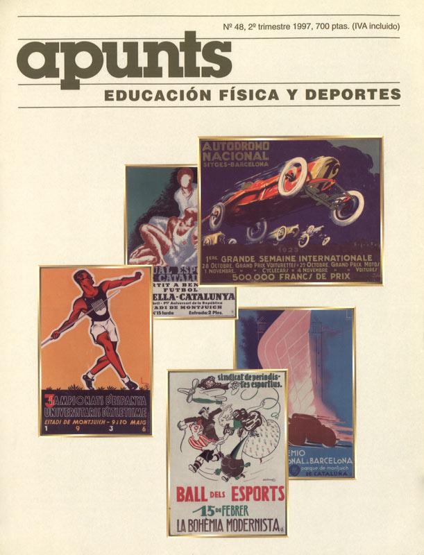 Portada 48 Apunts Educación Física y Deportes. INEFC
