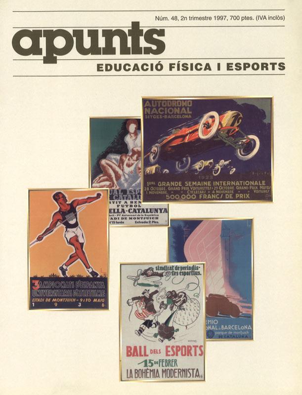 Cobrir 48 Apunts Educació Física i Esports. INEFC