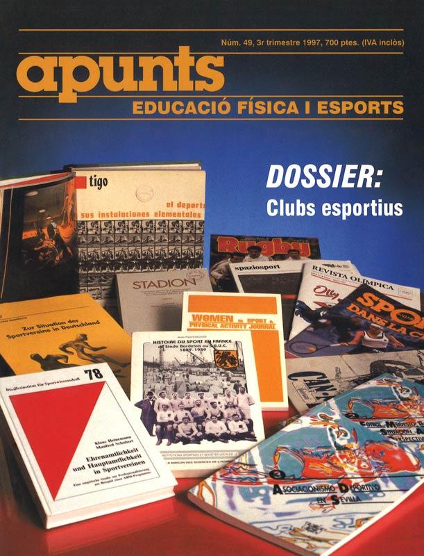 Cobrir 49 Apunts Educació Física i Esports. INEFC