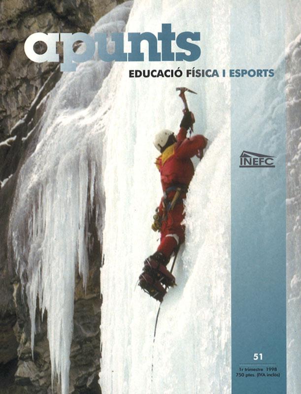 Cobrir 51 Apunts Educació Física i Esports. INEFC
