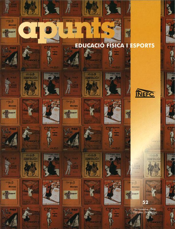 Cobrir 52 Apunts Educació Física i Esports. INEFC