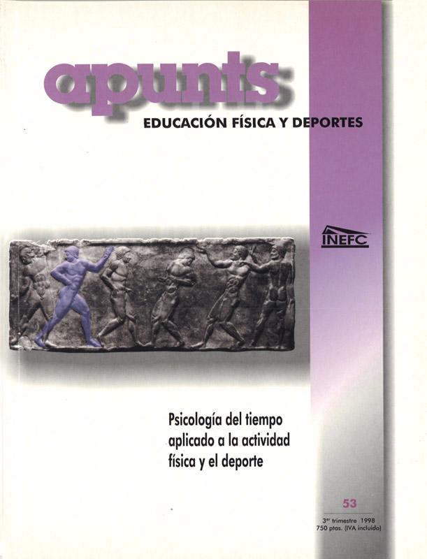 Portada 53 Apunts Educación Física y Deportes. INEFC