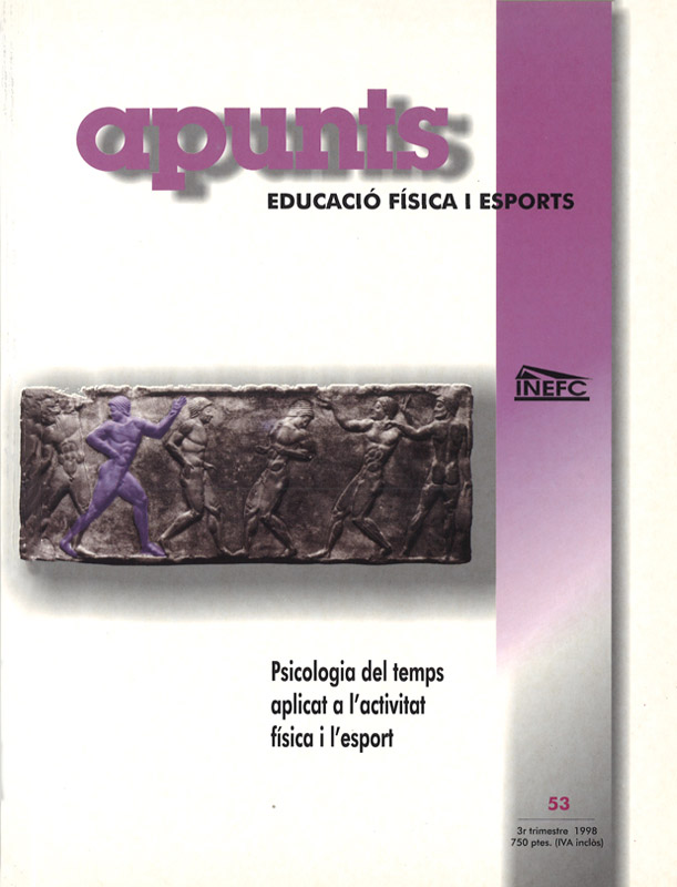 Cobrir 53 Apunts Educació Física i Esports. INEFC