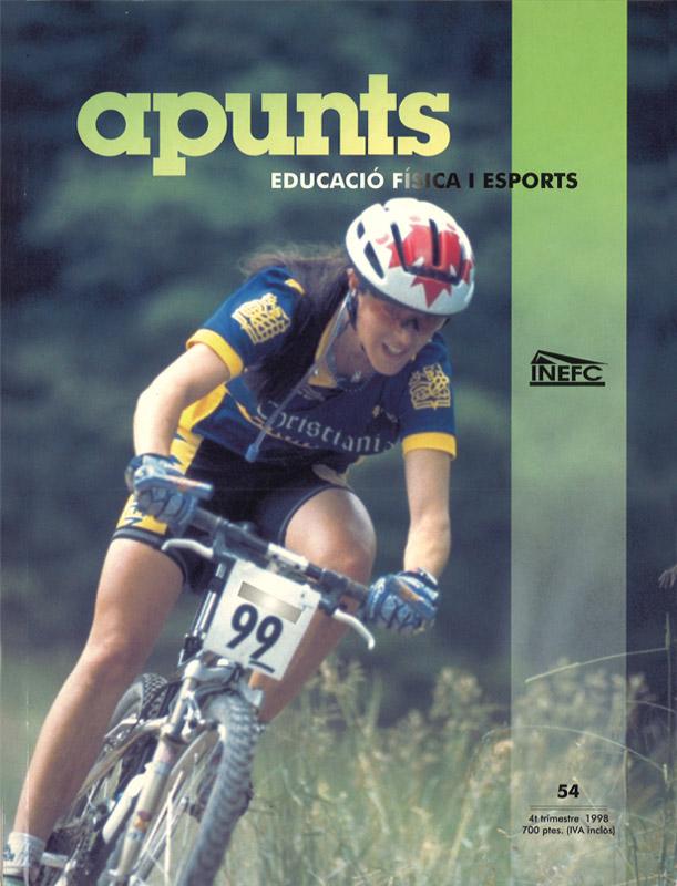 Cobrir 54 Apunts Educació Física i Esports. INEFC