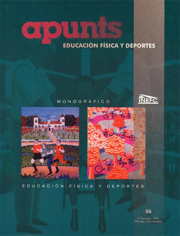 Portada 56 Apunts Educación Física y Deportes. INEFC