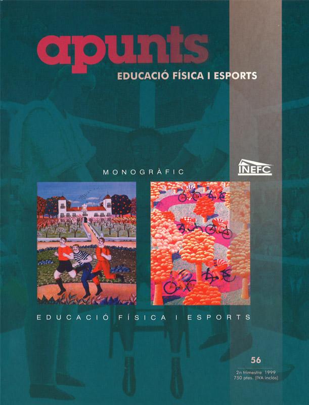 Cobrir 56 Apunts Educació Física i Esports. INEFC