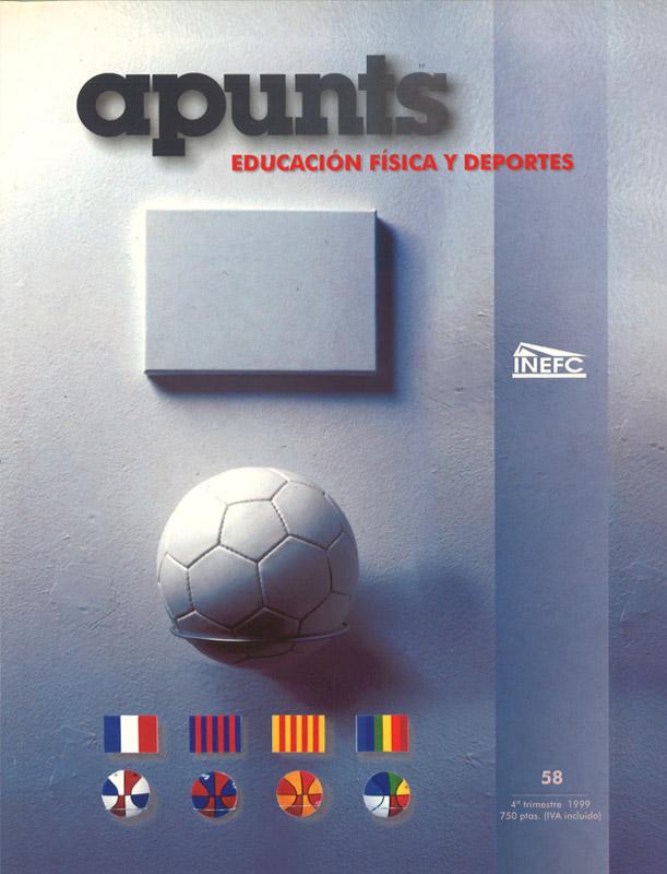 Portada 58 Apunts Educación Física y Deportes. INEFC
