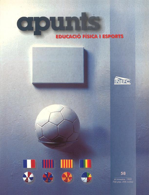 Cobrir 58 Apunts Educació Física i Esports. INEFC